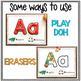 Alphabet Activities – Fine Motor Fun! *FILL IT*
