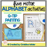 Alphabet Activities – Fine Motor Fun! *PAINT IT*
