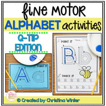 Alphabet Activities – Fine Motor Fun! *THE BUNDLE*