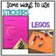 Alphabet Activities – Fine Motor Fun! *TRACE, BUILD, WRITE IT*