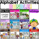 Alphabet Activities HOLIDAY Bundle