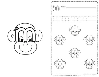Alphabet Activities: Handwriting Practice Pages / ABC Writing-Tracing