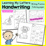 Alphabet Activities: Handwriting Practice Pages / ABC Writ