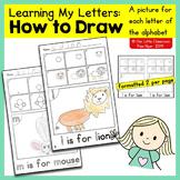 Alphabet Activities: How to Draw