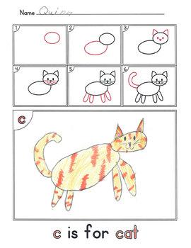 Alphabet Activities: How to Draw 2