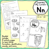 Alphabet Activities: Learning My Letters [Nn]