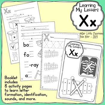 Alphabet Activities: Learning My Letters [Xx]