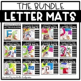 Alphabet Activities Letter Mats for Fine Motor Skills and