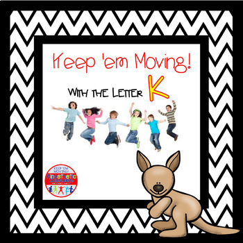 Alphabet Activities Letter of the Week Bundle for the Letter K
