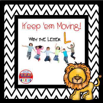Alphabet Activities Letter of the Week Bundle for the Letter L