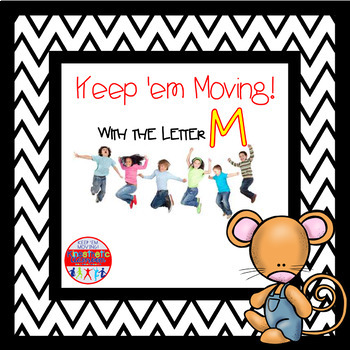 Alphabet Activities Letter of the Week Bundle for the Letter M