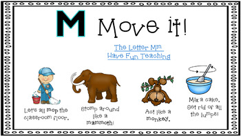 Alphabet Activities Letter of the Week M