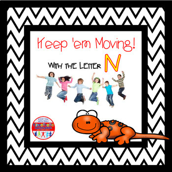 Alphabet Activities Letter of the Week Bundle for the Letter N