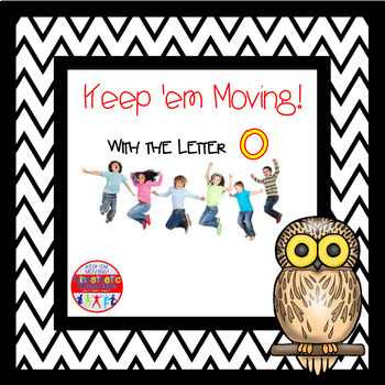 Alphabet Activities Letter of the Week Bundle for the Letter O