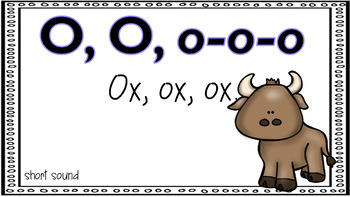 Alphabet Activities Letter of the Week O