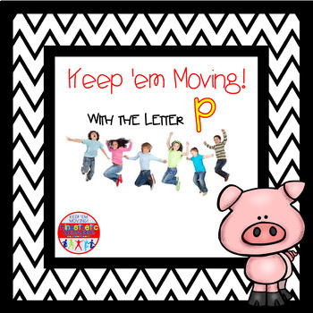 Alphabet Activities - Letter of the Week Bundle for the Letter P