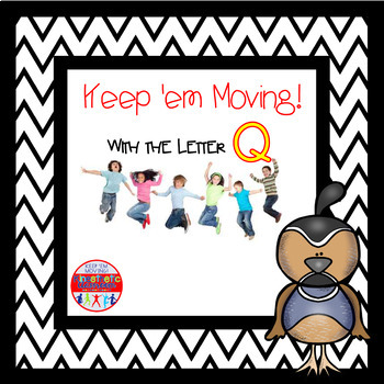Alphabet Activities - Letter of the Week Bundle for the Letter Q