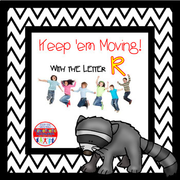 Alphabet Activities - Letter of the Week Bundle for the Letter R