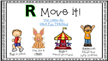 Alphabet Activities Letter of the Week R