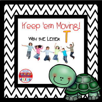 Alphabet Activities - Letter of the Week Bundle for the Letter T