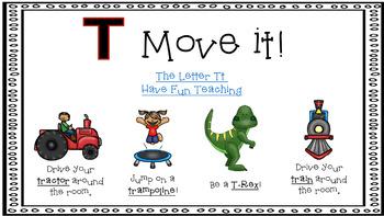 Alphabet Activities Letter of the Week T