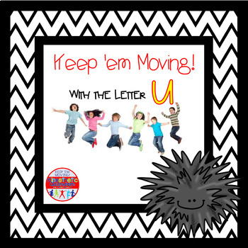 Alphabet Activities - Letter of the Week Bundle for the Letter U