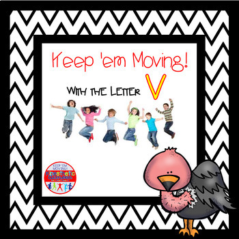 Alphabet Activities Letter of the Week Bundle for the Letter V