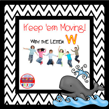 Alphabet Activities Letter of the Week Bundle for the Letter W