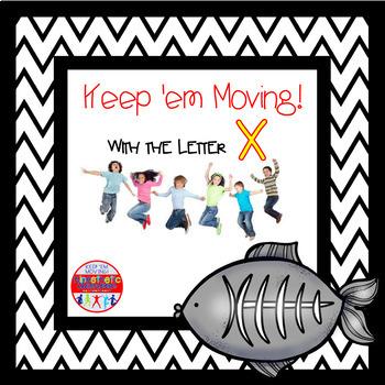 Alphabet Activities Letter of the Week X