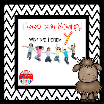Alphabet Activities - Letter of the Week Bundle for the Letter Y