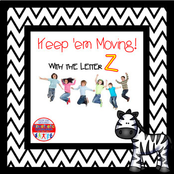 Alphabet Activities - Letter of the Week Bundle for the Letter Z