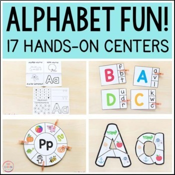 Alphabet Activities Mega Bundle