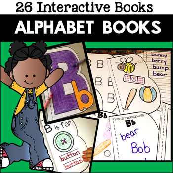 Alphabet Books Activities Practice