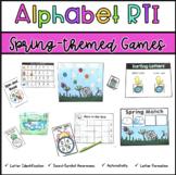 Alphabet Activities: Spring