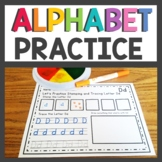 Alphabet Worksheets Trace the letter