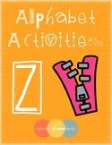 Alphabet Activities [Z]