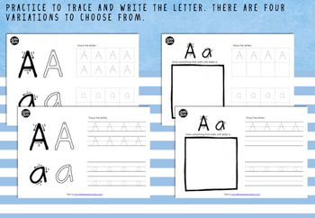 Alphabet Activities and Worksheets