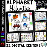 Digital Alphabet Activities: Kindergarten Google Classroom