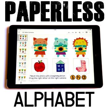 Google Classroom™ Activities for ELA | Beginning Sounds | Alphabet
