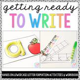 Alphabet Activities for Lowercase Letters