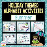 Alphabet Activities for Summer | Letter Recognition Activi