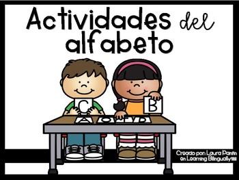 Alphabet Activities in Spanish