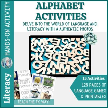 Alphabet Activities with Real Photos
