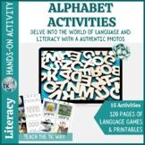 Alphabet Activities with Real Photos