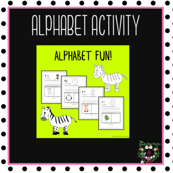 Alphabet Activity with Dolch Words