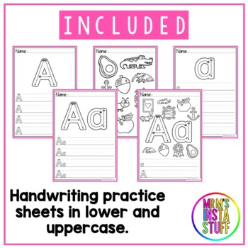 ALPHABET ACTIVITY BOOK BUNDLE - 24 BOOKLETS INCLUDED