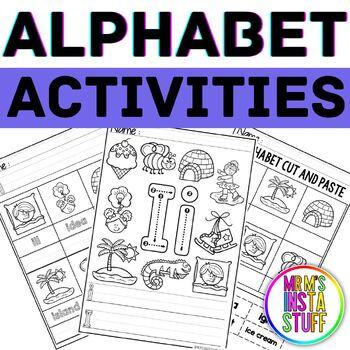 Alphabet Activity Book - Ii