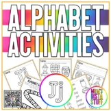 Alphabet Activity Book - Jj