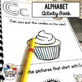 Letter of the Week Worksheets Alphabet Activity Book