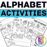 Alphabet Activity Book - Nn